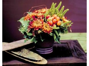 Podzim v bytě plném barev