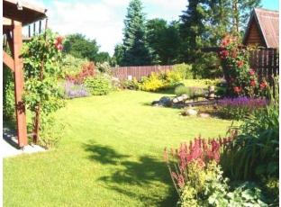 Logo Na anglický trávník svřetenovou sekačkou