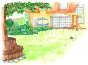 Logo Originální dům si žádá originální zahradu