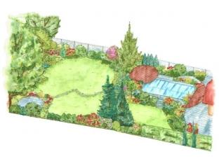Logo Úzký pozemek, dlouhá zahrada?