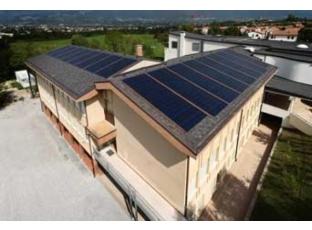 Logo Střešní šindele jako fotovoltaické solární články?