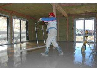 Anhydritová podlaha místo betonu
