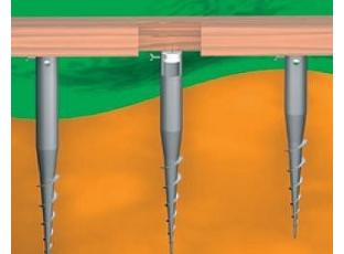 Zemní vruty nejen pro výstavbu plotů