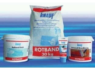 Vyzkoušejte sádrové produkty Rotband Family