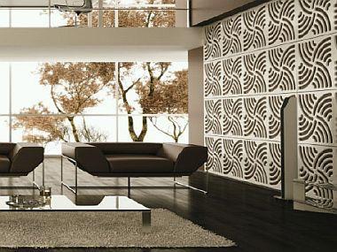 Průhledné panely interiér ozdobí i prosvětlí