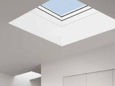 Přiveďte světlo plochou střechou