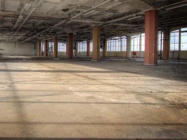 Průmyslové betonové podlahy