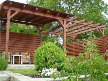 Logo Dřevěné stavby vyzdvihnou zahradu