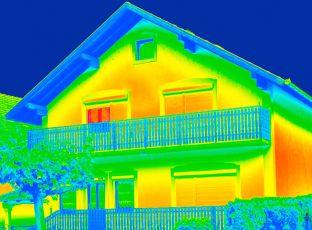 Logo Měření termokamerou odhalí tepelné ztráty
