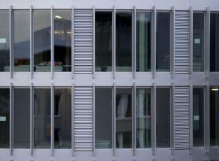 Hliníková okna pro velké zasklené plochy