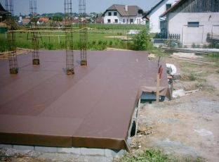 PVC izolace základů a plochých střech