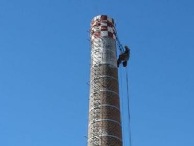Výškové práce ve stavebnictví