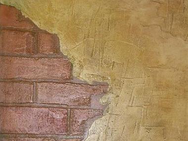 Logo Dekorativní úpravy stěn, to není jen pouhé vymalování