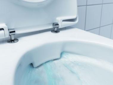 Logo WC bez splachovacího kruhu ničí bakterie