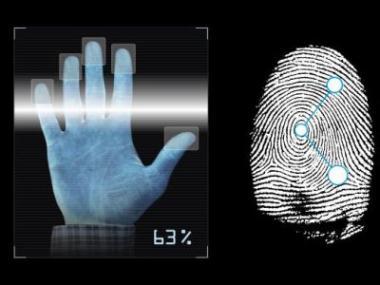 Logo Kam směřuje biometrie