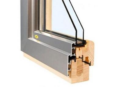 Ušlechtilý vzhled a velké prosklené plochy dřevohliníkových oken