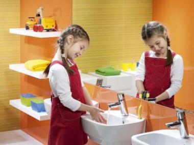 Logo Koupelny nejen pro dospělé: Děti se také chtějí mýt