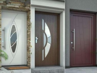 Logo Představujeme novou technologii plastových dveří -GFK