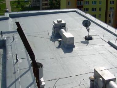 Logo Jak se izoluje plochá střecha
