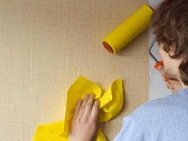 Logo Jak správně nalepit tapety?