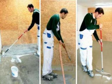 Sádrová nivelační stěrka BP 4 vyrovná podlahy