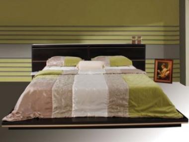 Logo Čalouněnou nebo masivní dřevěnou postel?