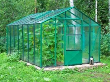 Kam postavit skleník?