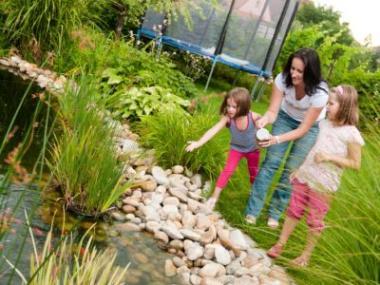 Jak založit zahradní jezírko