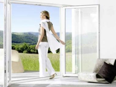Komfortní plastová okna z profilů GENEO