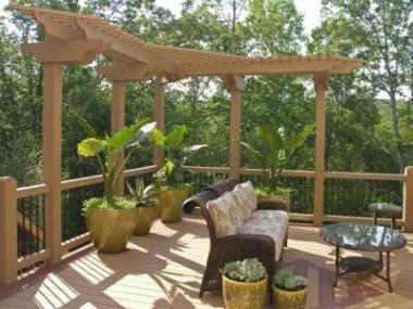 Dřevěná zahradní architektura nikdy nezklame