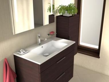 Logo Geometrické tvary aminimalismus koupelnového nábytku