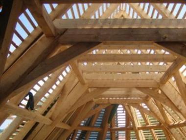 Logo Zachraňujeme vzácné dřevěné konstrukce