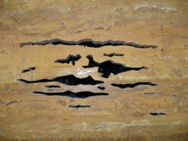 Logo Přírodní kámen se vinteriéru stane solitérem