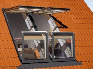 Logo Střešní okna amarkýzy naletošním FOR ARCHu