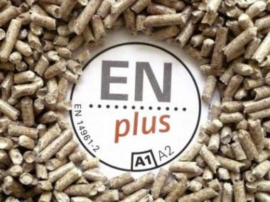 Logo Nejkvalitnější dřevěné pelety se vyrábějí pod certifikátem ENplus