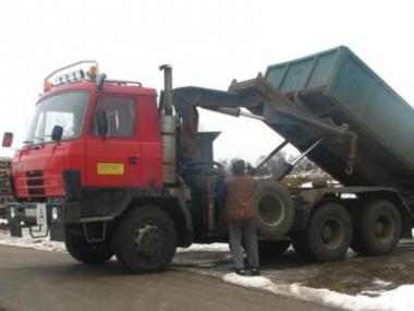Logo Kontejnerová doprava urychlí likvidaci odpadu