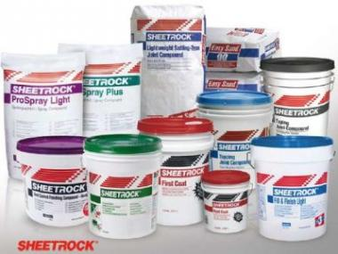 Logo Kompletní zavedení výrobků SHEETROCK®