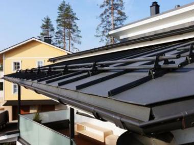 Logo Skandinávský design nastřechách afasádách