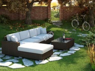 Zahradní nábytek z umělého ratanu překvapí