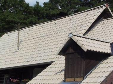 Nová betonová střecha za polovinu