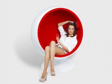 Křeslo Ball Chair – světový design, česká klasika
