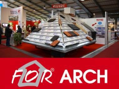 Logo FOR ARCH hlásí rekordní zájem vystavovatelů