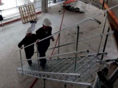 Logo Ocelové dočasné schodiště pro stavebníky
