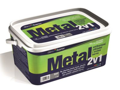 Nová privátní značka barvy METAL 2v1