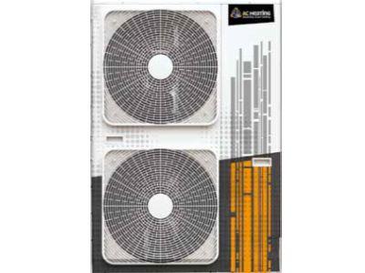 Logo Celoroční topný faktor tepelných čerpadel AC Heating