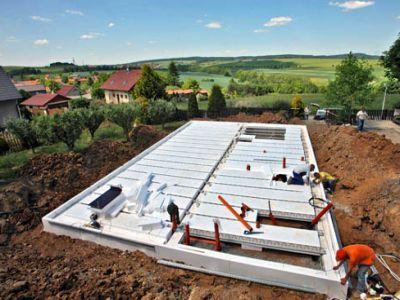 Izolované základové desky pro energeticky úsporné budovy