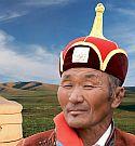 Logo Mongolsko -země Čingischána
