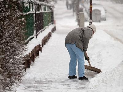 Jak je to v zimě s úklidem sněhu?