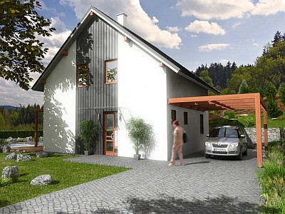 Logo Proč právě montovaný dům zedřeva?