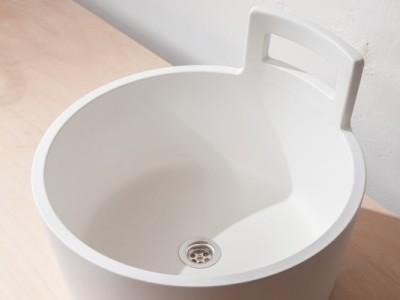 Umyvadlo Džber přináší užité umění do běžných koupelen